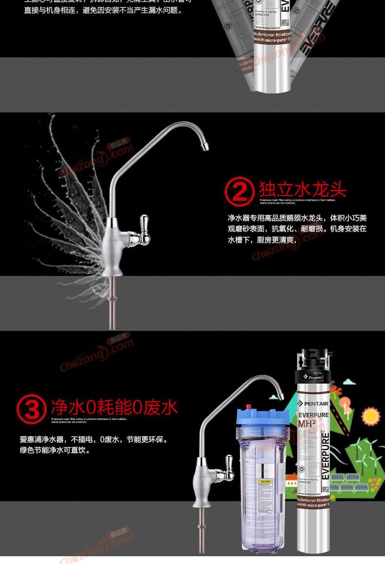 愛惠浦MH2凈水器MH2詳情圖