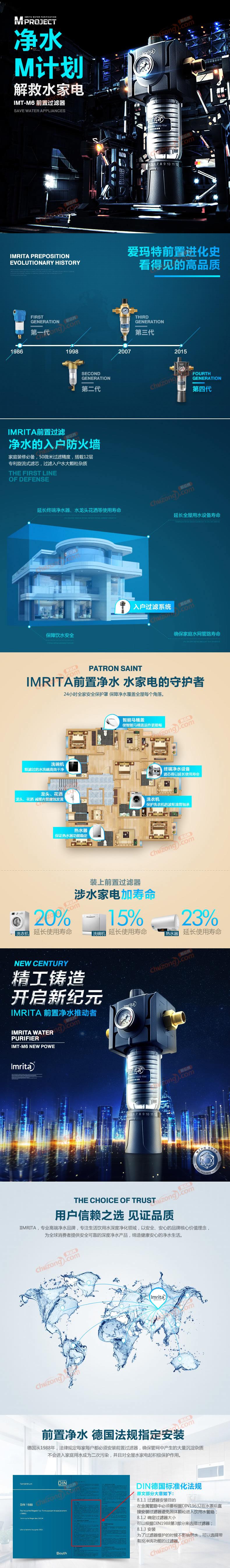 爱玛特中央微滤器IMT-M6详情图
