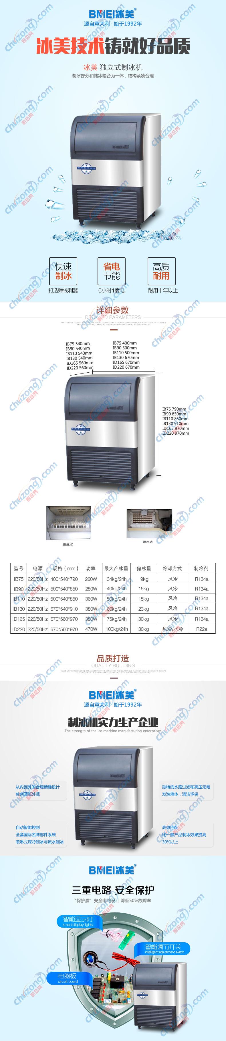 冰美制冰机IB90详情图
